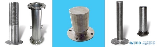 SUS316 Water Filter Resin Traps for dewatering
