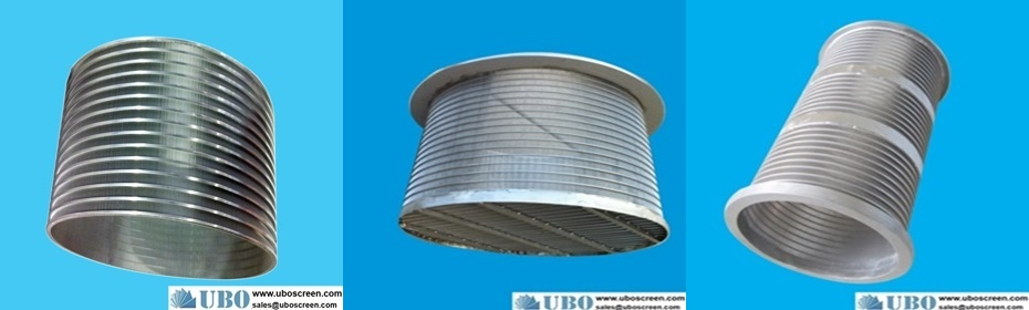 SS316L wedge wire strainer baskets use as backwashable filter cartridge