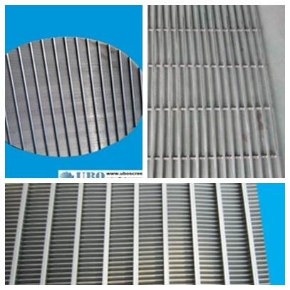 flat panel wedge wire screens