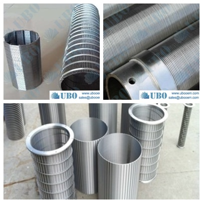 wedge wire column strainer