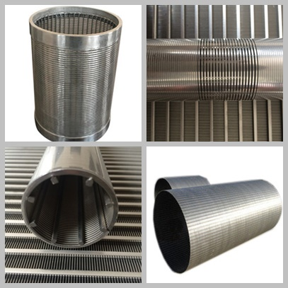 Wedge Wire Screens For Liquid / Solids Separation