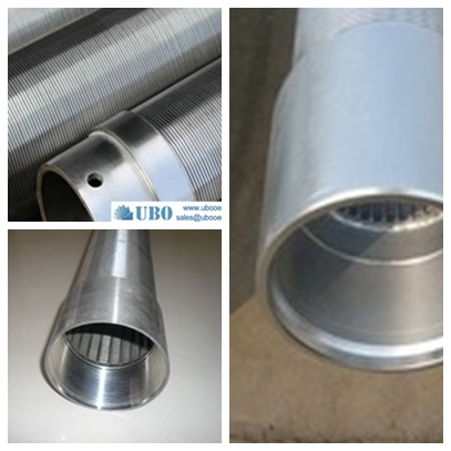 corrosion resistant wedge wire screens