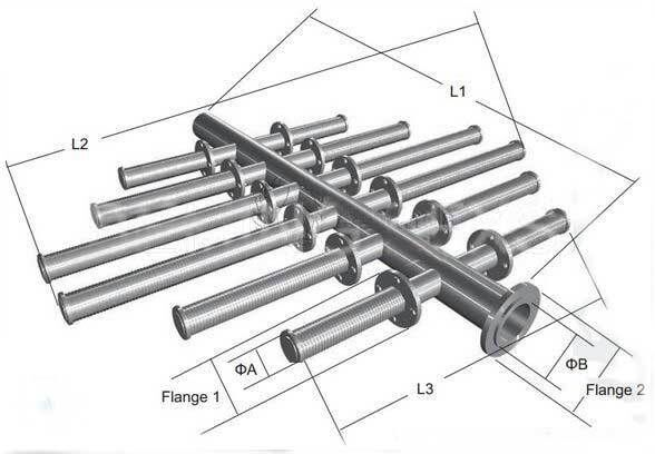 Refine header hub laterals factory