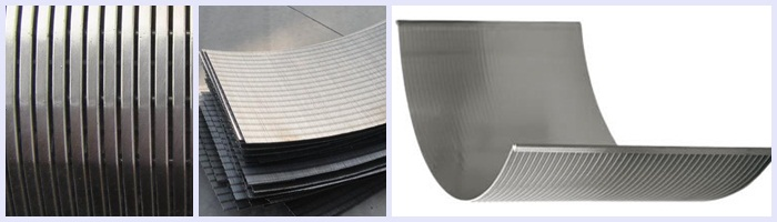 Wedge sieve band-arch screen