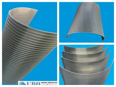 stainless steel sieve bend screen