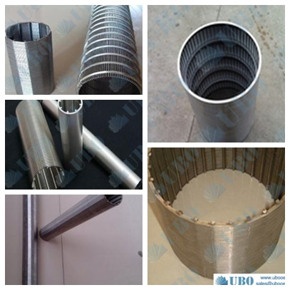 wedge wire Pipe based well screen