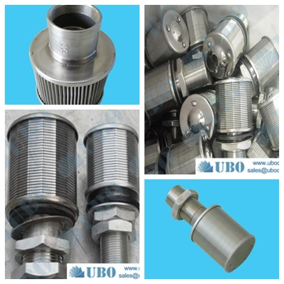 sewage treatment nozzle filter