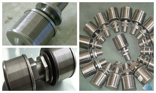 316L economical wedge wire screen nozzle chemical industry filtration