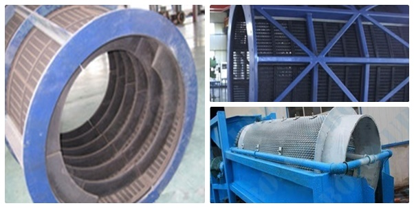mining rotary drum sieve screen