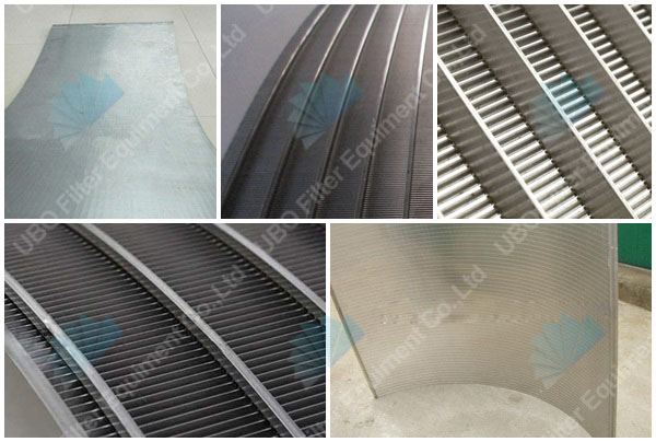<a href='http://www.uboscreen.com/' target='_blank'>wedge wire screen</a> panel for food filtration