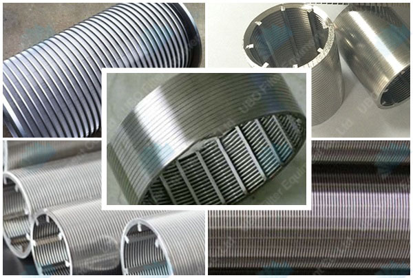 Stainless Steel Wedge Wire Pipe
