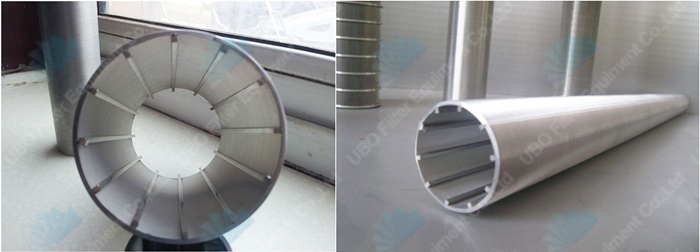 SS 304 wedge wire metal filter for filtration