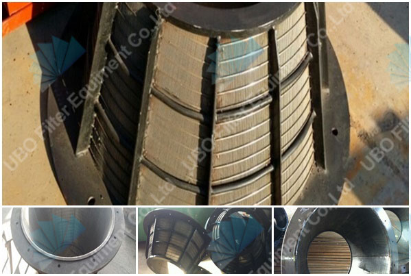 wedge wire centrifuge basket