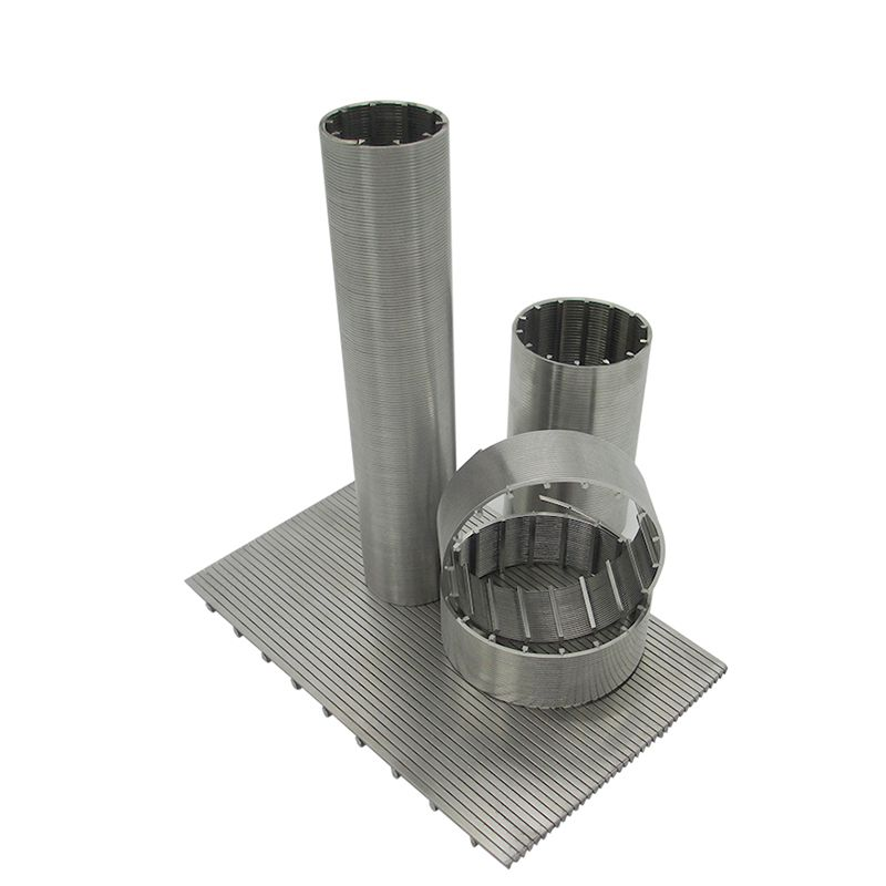 stainless steel wedge wire screen filter element